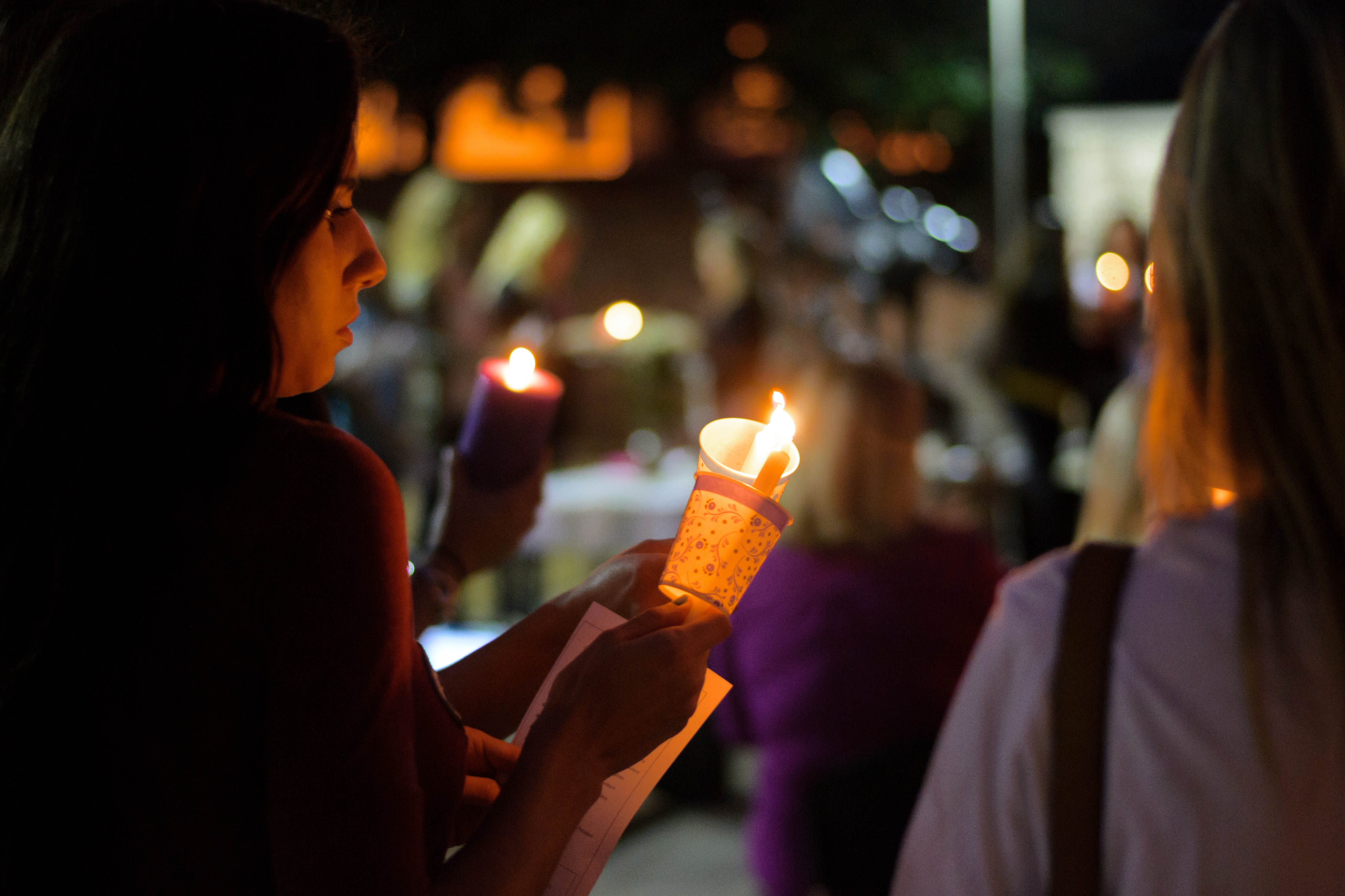 Georgia State holds candlelight vigil for Coordinator of ...