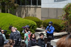 Terah Boyd | The Signal GSUPD evacuated Sparks Hall for more than 30 minutes,