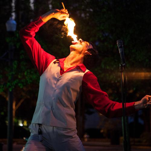Performance art at Atlanta Fringe 2012 | submitted photo