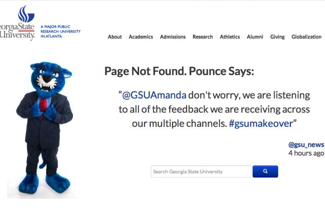 Pounce 404 Page