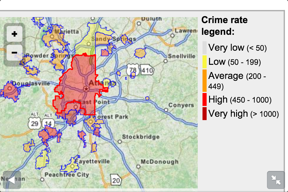 Crime Rate Houston Map.Misleading Crime Statistics May Potentially Deter Tourism In