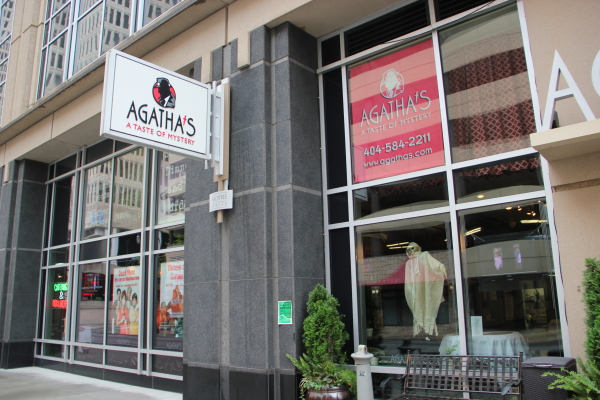 Agatha's is a murder mystery comedy dinner theater located in downtown Atlanta.PHOTO BY NADIA DELJOU | THE SIGNAL