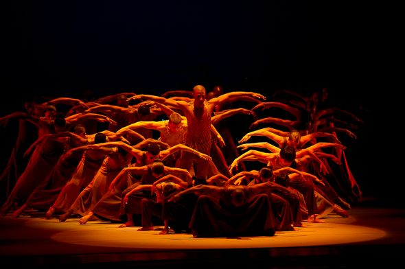 PHOTO COURTESY OF ALVIN AILEY  Alvin Ailey performers travel across the world, featuring  a variety of cultural, spirited performances.