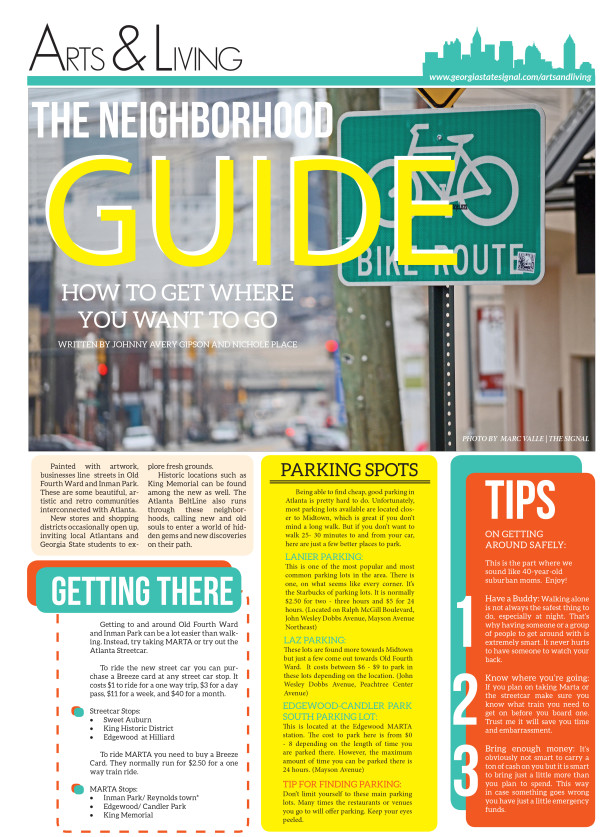Transportation Guide Page 1
