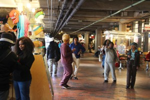 Underground Atlanta, located in the Five Points neighborhood, is an area with potential, but the amount of people who visit is dwindling. The lack of safety has provided a caution to anyone thinking of visiting. Photo by: Ralph Hernandez