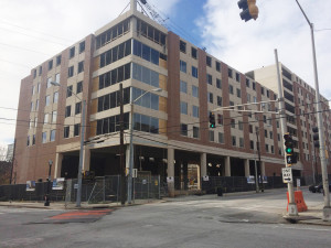 The new housing facility on Piedmont Avenue will open its doors next fall. Photo by Lauren Booker | The Signal