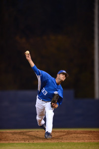 Alex Hegner throws a pitch during a Georgia State baseball game. Photo Submitted | Georgia State Athletics