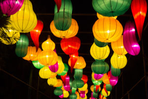 The Chinese Lantern Festival in Centennial Olympic Park showcase ornate handmade lanterns as well as dance and theatre performances based on Chinese culture. Photo by Dayne Francis | The Signal