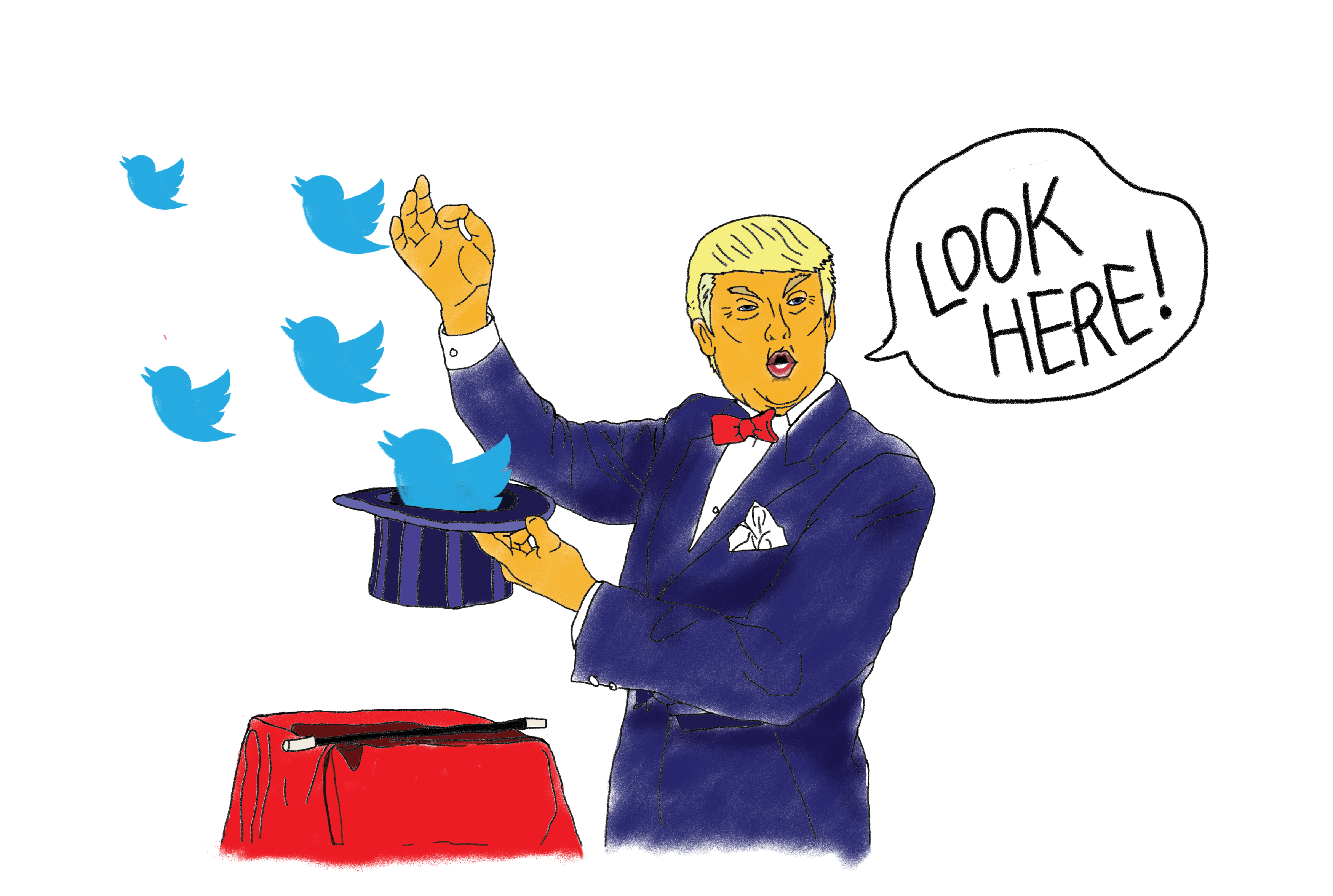 Dont Be Distracted Real Issues In >> Opinion Trump S Tweets Distract From Real Issues The Signal