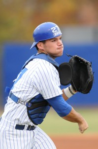 Georgia State catcher, Scott Sarratt. Photo courtesy of Georgia State Athletics.