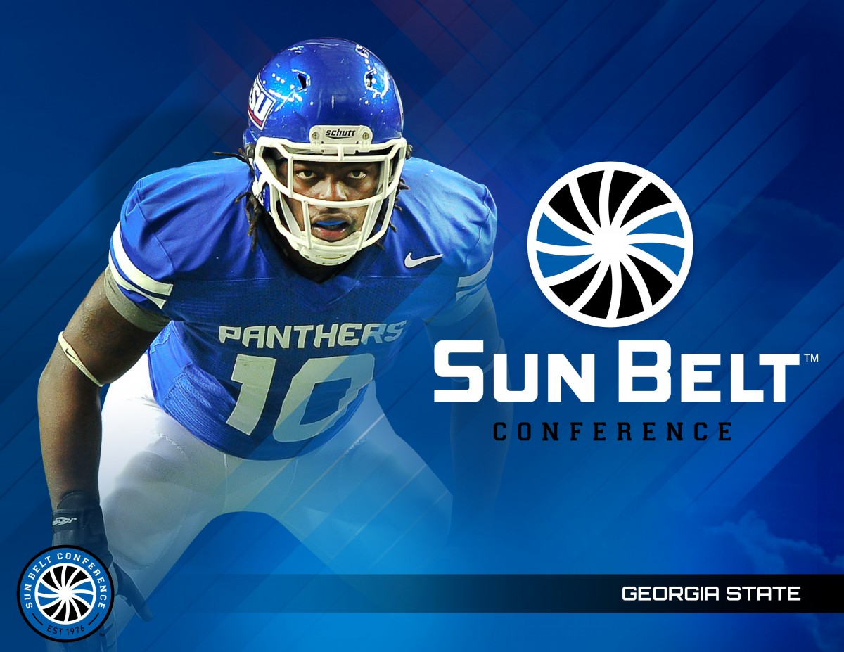 Georgia State's new Sun Belt logo