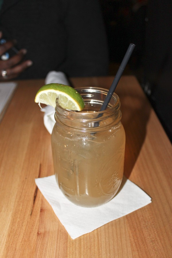 The 'Dark and Stormy' cocktail