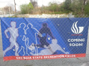 Georgia State's recreational department spent more than $3 million on land its left abandoned.