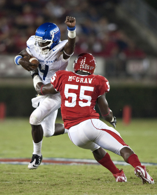 Former Georgia State wide receiver Kelton Hill will compete at the  NFL Super Regional Combine in Detroit on April 12th. Georgia State Athletics