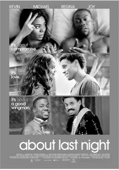 Poster for 'About Last Night'