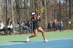 Photo Courtesy: Georgia State Athletics Tere-Apisah is 96-24 in singles matches her four years playing for the Panthers.