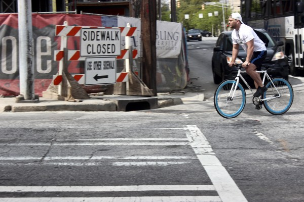 The new bicycle lanes will create a safe transportation system for bicyclists.