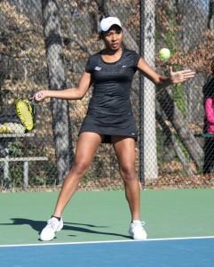 Photo Courtesy: Georgia State Athletics Tere-Apisah traveled nearly 9,000 miles to play tennis at Georgia State.