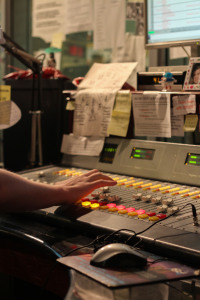Meet the faces behind one of the highest operating college radio stations in the U.S. PHOTO BY RALPH HERNANDEZ| THE SIGNAL