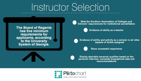 Instructor Selection