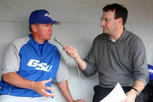 Dave Cohen, Georgia State's radio personality, has been calling basketball, football, and baseball for 18 years now. Photo: Submitted