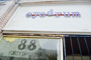 Located in downtown Atlanta, Eyedrum is a local music venue and art gallery for art and music enthusiasts alike. Photo by Justin Clay | The Signal