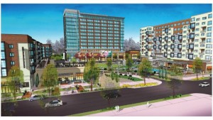Weingarten Realty's design of what the new development will look.  Submitted photo | Weingarten Realty