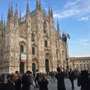 The biggest Duomo Milan, is the fifth largest cathedral in the world. Photo by Chante Foster | The Signal