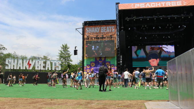 Shaky Beats 2019 entrance
