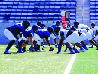 Georgia State Football during training camp
