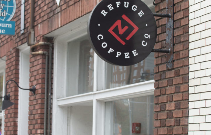 Refuge Coffee is located on Auburn Ave and has became the new highlighted coffee spot on campus. Photo by Matt Siciliano-Salazar | The Signal