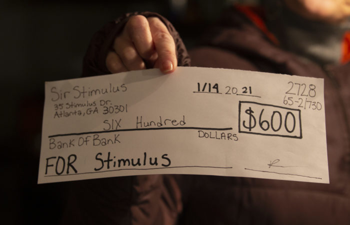 Mixed- status immigrants, dependents, and college students, could receive the third stimulus check from the IRS. Photo by Matt Siciliano-Salazar   The Signal
