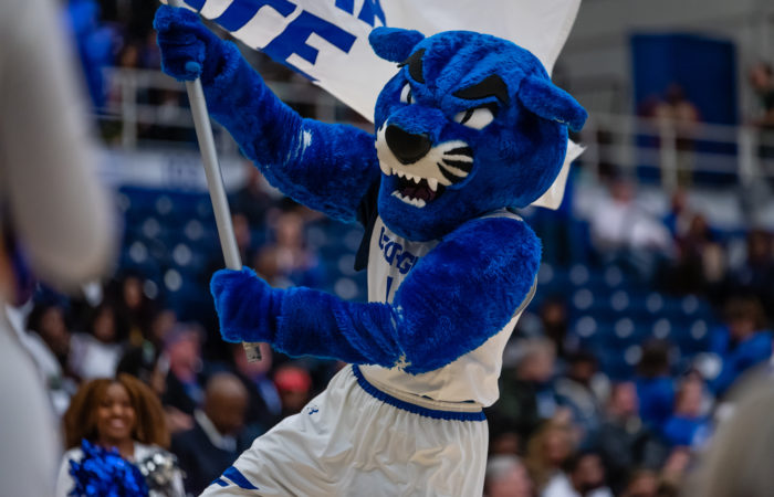 Georgia State uses the panther as its mascot but does not contribute to conservation efforts.  Submitted by Georgia State Athletics