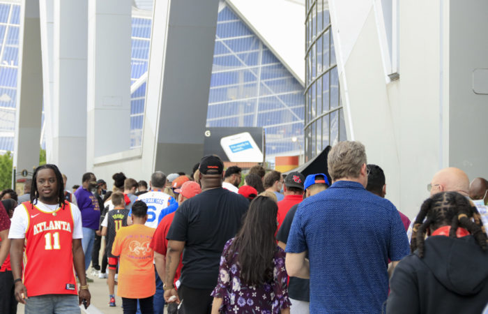 As the weather gets warmer, Atlanta's sports teams are seeing their crowd sizes increase. Harry Wyman | The Signal